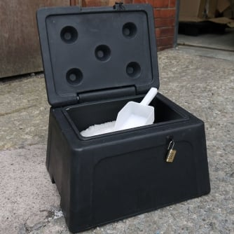 Excelsior Mini Grit Bin 30 Litre with or without Accessories