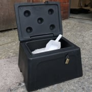 Mini Grit Bin 30 Litre with or without Accessories