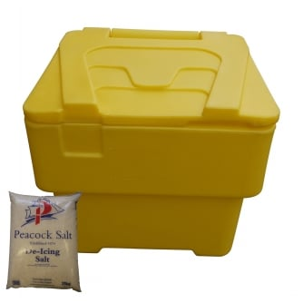 Excelsior New 60 Litre Grit Bin with or without Salt