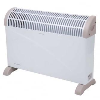 Heatstore White Floor Standing 2KW Convector Heater