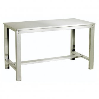 British Heavy Duty Stainless Steel Workbenches