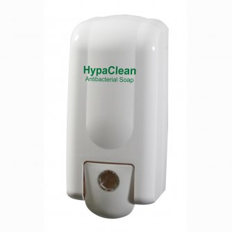 HypaClean Antibacterial Soap Dispenser, Empty
