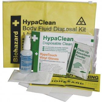 HypaClean Body Fluid Disposal Kit, Wallet (1 App)