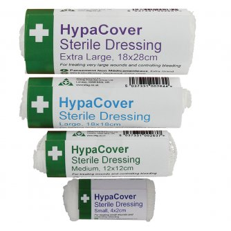 HypaClean HypaCover Sterile Dressing, Medium (Pack of 6)