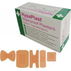 HypaPlast Pink Washproof Plasters, 7.2x2.5cm (Pack of 100)