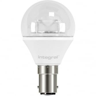 Integral LED 5.6W Mini Globe Bulb 2700K 470lm B22 Bayonet Dimmable-Lamp