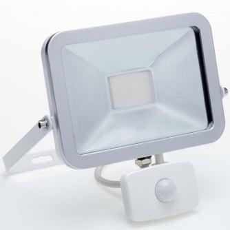 Ispot Security LED Floodlight 20w Daylight - White with Sensor