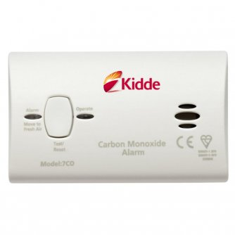 Kidde 10yr Battery operated Carbon Monoxide Detector - 7CO