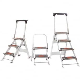 Little Giant Safety Steps Aerospace Grade Aluminium 2, 3 and 4 Treads