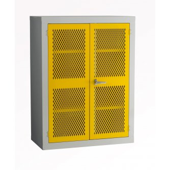 British Mesh Door Storage Cabinet 1830x457x457mm