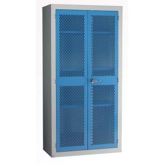 British Mesh Door Storage Cabinet 1830x915x457mm