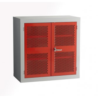 British Mesh Door Storage Cabinet 915x915x457mm