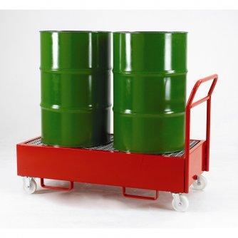 British Mobile Drum Sump Trolley