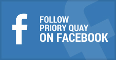 Follow Priory Quay On Facebook
