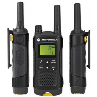 Motorola XT180 Quad Pack 2 way Extreme Radios and 2 x Chargers