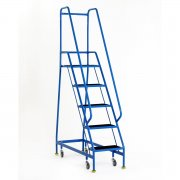 Narrow Aisle Spring Loaded 5 Steps Rubber Treads