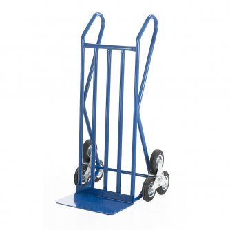 British Open Loop Handle Stairclimber with Fixed Toe Plate Solid Tyres