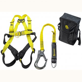 P and P Safety Scaffolding and Fall Arrest Harness & Lanyard Deluxe Kit