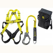 Scaffolding and Fall Arrest Harness & Lanyard Deluxe Kit