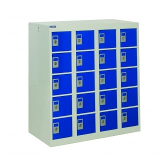 British Personal Effects Locker 20 Compartments