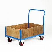 Plywood Side Frame Platform Truck