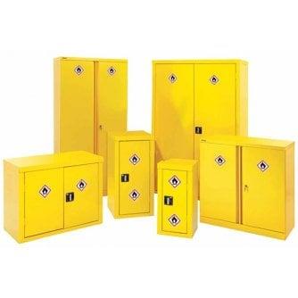 Polar Hazardous and Flammable Substance Storage Cabinets 6 Sizes