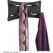 Adjustable Coat Rack, Black