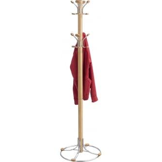 PQ Bamboo Coat Stand, Natural (NA)