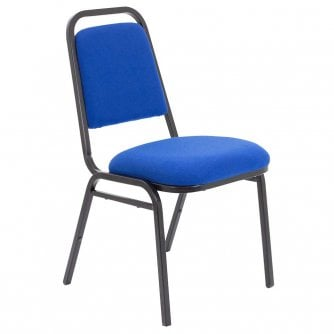 PQ Banqueting Chair in Charcoal, Royal Blue or Claret