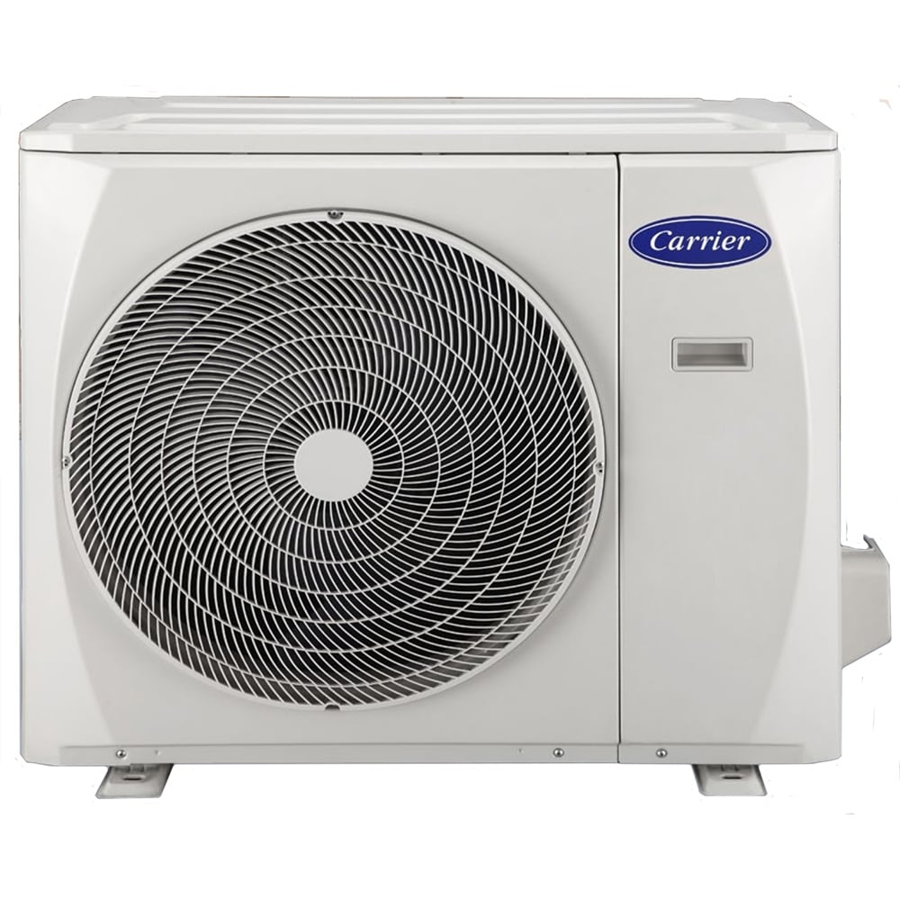Carrier pearl high wall split system air conditioner for In wall heating system