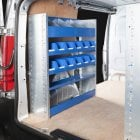 Design and Build Your Own Van Racking System with Components