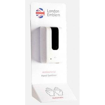 PQ Desk Mounted Hand Sanitiser Dispenser Unit - Choice of 4 Colours