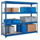 Economy Heavy-Duty Longspan Shelving Unit 600mm Depth