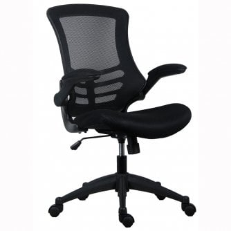 PQ Executive Office Chair MeshBack in Black CH0790BK