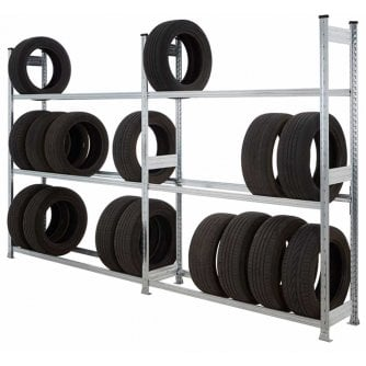 PQ Galvanised Trye Racking Starter and Extension Bays in 4 Sizes