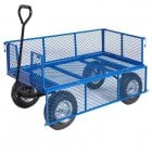General Purpose Truck with Mesh Sides & Base - 1200 x 600 x 360 400kgs Capacity