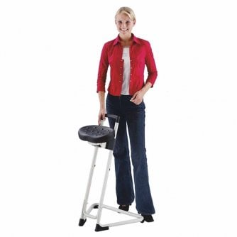 PQ Great Value Anti Fatigue Sit Stand Stools