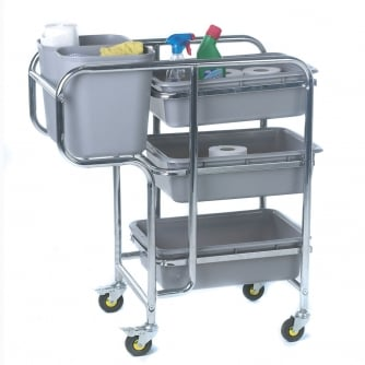 PQ Housekeeping Collector Trolley