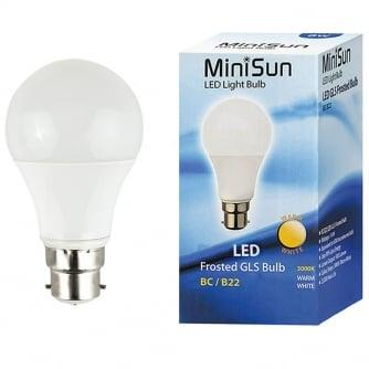 PQ LED Light Bulb 10W (100W) BC B22 ES E27 GLS Lamp Warm White