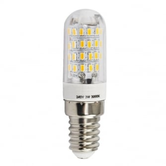 PQ LED Pygmy High Power 3W LED Bulb with SES Cap Packs of 10