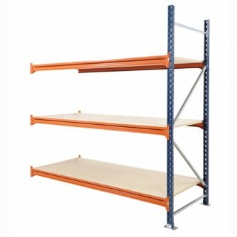 PQ Longspan Extension Bays 2000mm High x 900mm Depth Mecalux HD choice of 6 widths up to 400kg UDL