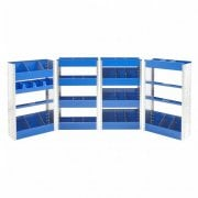 Narrow Van Racking Kits  Size 1100h x 655w x 280d mm