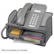Onyx Mesh Telephone Stand, Black