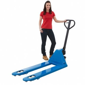 PQ Pallet truck from Stock Fork Size 540w x 1150d mm and a 2500kg Capacity