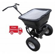 Pedestrian Salt Spreader Capacity 50kg White Rock Salt