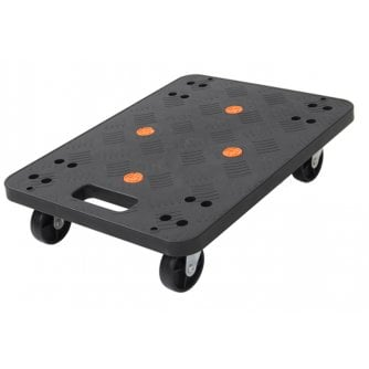 PQ Plastic Hand Trolley Dolly 370 x 500mm Capacity 100kg