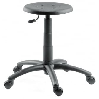PQ Polyurethane Deluxe Stool Gas Height Adjustable