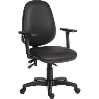PQ Practical PU Tough Operator Chair - Easy Clean