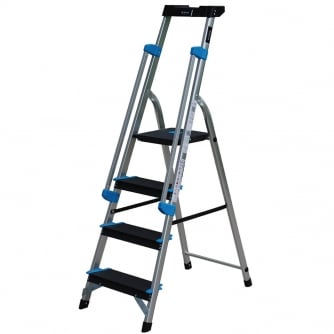 PQ Professional Platform Step Ladders 3 to 7 Treads