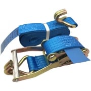 Ratchet Straps 5000kgs 50mm choice of colours and lengths - Claw ends